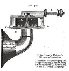 E. Berliners Universal Telephon Transmitter prometheus Nr 93_1891 S_646
