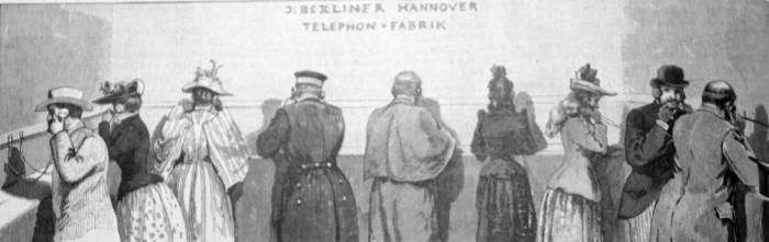 Fernkonzert Elektrotechnische Ausstellung Frankfurt am Main 1891_web