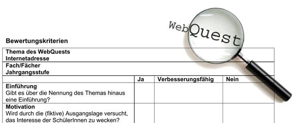 Webquest_Didaktische Lupe