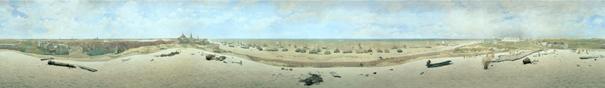 Ausschnitt des Panorama Mesdag