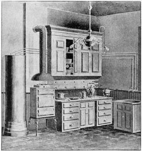 Elektrische Küche Weltaustellung Chicago 1893 The Popular Science Monthly Nov 1893 S_46