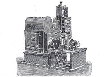 Automatischer Apparat für Lichtbildreklame_Liesegang 1909, S.  295
