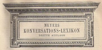 Meyers Konversations-Lexikon