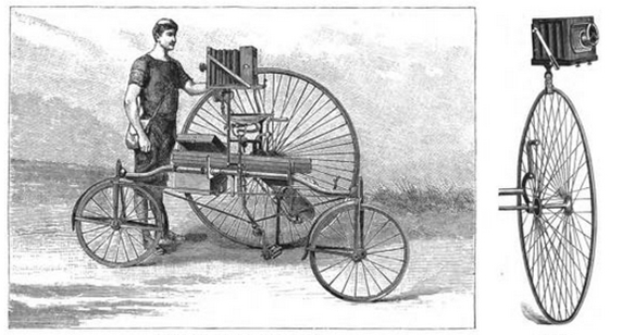 Photo-Tricycle_Eder Die Moment Photographie 1886 S. 76