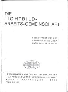 Lichtbildarbeitsgemeinschaft Agfa