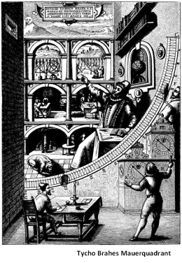 Tycho Brahes Mauerquadrant